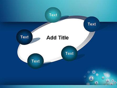 Network Circles PowerPoint Template Slide 14