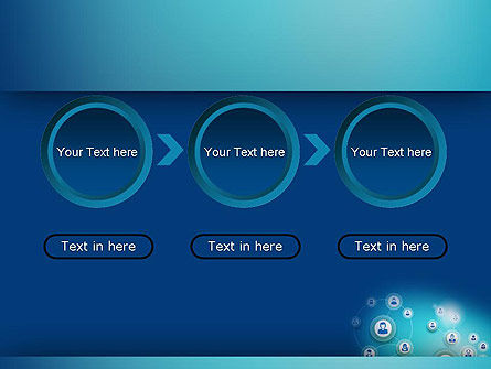 Network Circles PowerPoint Template Slide 5