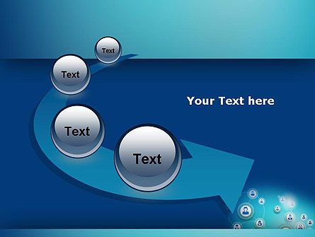 Network Circles PowerPoint Template Slide 6