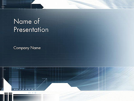 Abstract Technology Theme PowerPoint Template