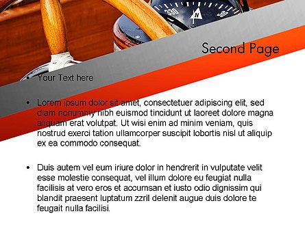 Yachting PowerPoint Template Slide 2