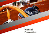 Careers/Industry: Yachting PowerPoint Template #12401