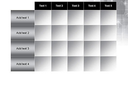 Technology Gray Abstract With Arrows PowerPoint Template Slide 15