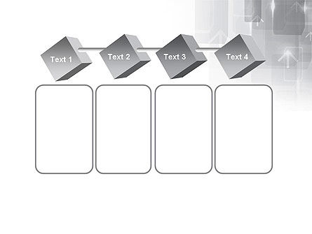 Technology Gray Abstract With Arrows PowerPoint Template Slide 18