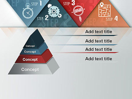 Four Creative Steps PowerPoint Template Slide 12