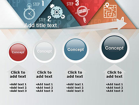 Four Creative Steps PowerPoint Template Slide 13