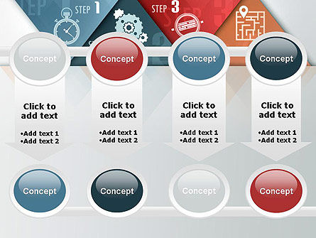 Four Creative Steps PowerPoint Template Slide 18
