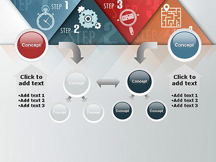 Four Creative Steps PowerPoint Template Slide 19