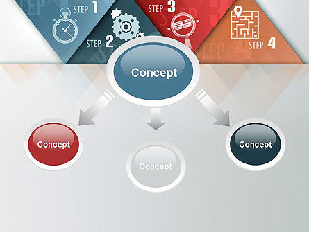 Four Creative Steps PowerPoint Template Slide 4