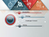 Four Creative Steps PowerPoint Template#3