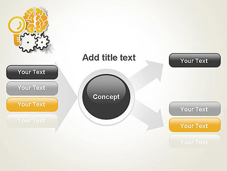 Working Brain PowerPoint Template Slide 15