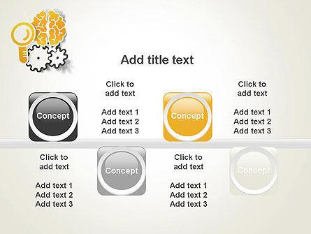 Working Brain PowerPoint Template Slide 18
