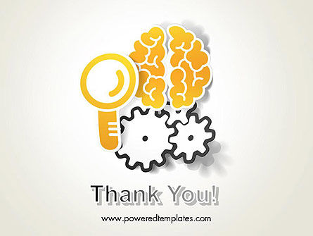 Working Brain PowerPoint Template Slide 20