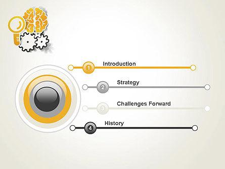 Working Brain PowerPoint Template Slide 3