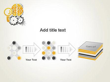 Working Brain PowerPoint Template Slide 9