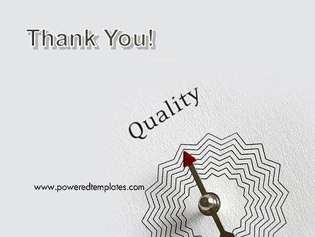 Path to Quality PowerPoint Template Slide 20