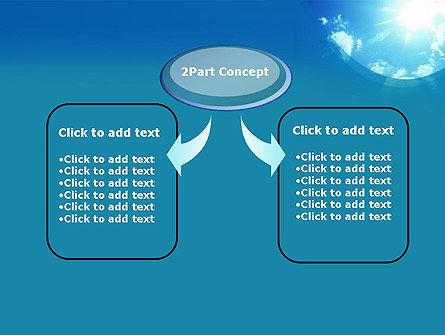 Sunshine PowerPoint Template, Slide 4, 12413, Nature & Environment — PoweredTemplate.com