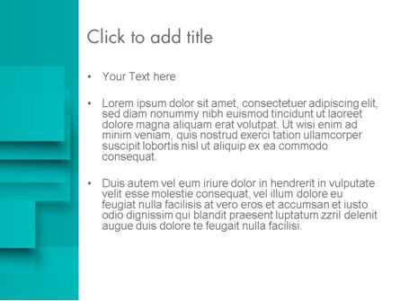 Abstract Turquoise PowerPoint Template, Slide 3, 12416, Abstract/Textures — PoweredTemplate.com