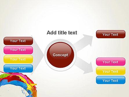 Colorful Paint Splash PowerPoint Template Slide 15