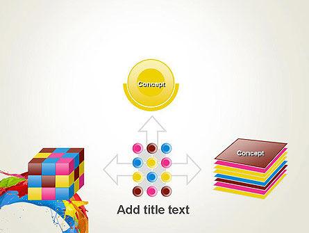 Colorful Paint Splash PowerPoint Template Slide 19