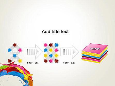Colorful Paint Splash PowerPoint Template Slide 9