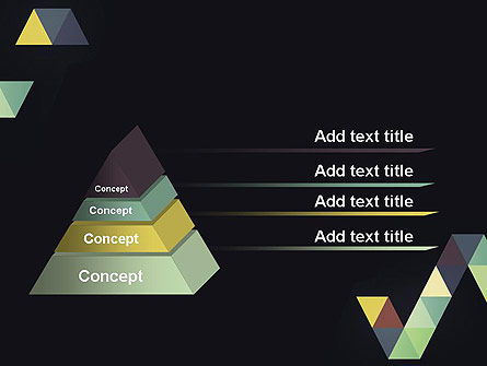 Geometric Triangle Art PowerPoint Template Slide 4