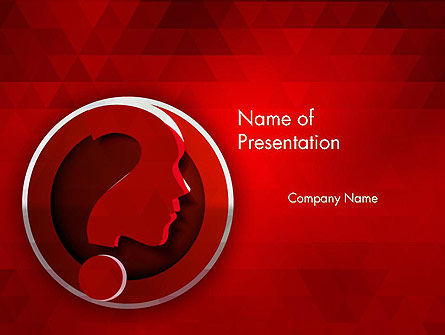 Consulting: Question Concept PowerPoint Template #12419