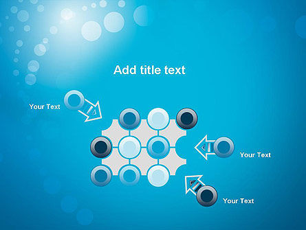 Abstract Blue Background PowerPoint Template Slide 10