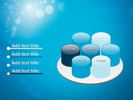 Abstract Blue Background PowerPoint Template Slide 12