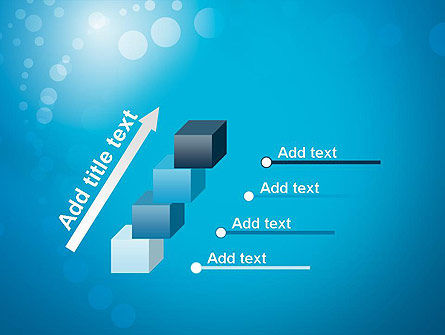 Abstract Blue Background PowerPoint Template Slide 14