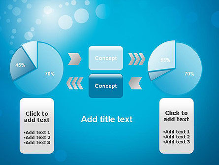 Abstract Blue Background PowerPoint Template Slide 16