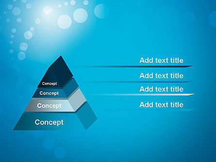 Abstract Blue Background PowerPoint Template, Slide 4, 12420, Abstract/Textures — PoweredTemplate.com