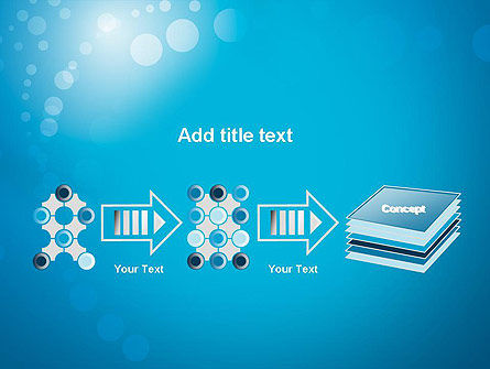 Abstract Blue Background PowerPoint Template Slide 9