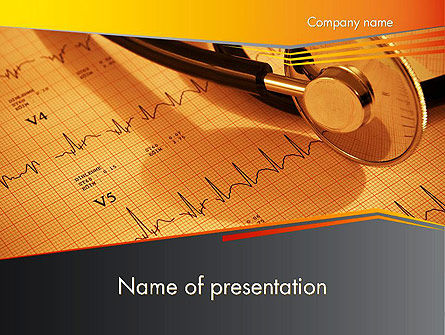 Heart Attack Symptoms PowerPoint Template, 12421, Medical — PoweredTemplate.com
