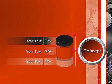 Cogwheels Concept PowerPoint Template Slide 11