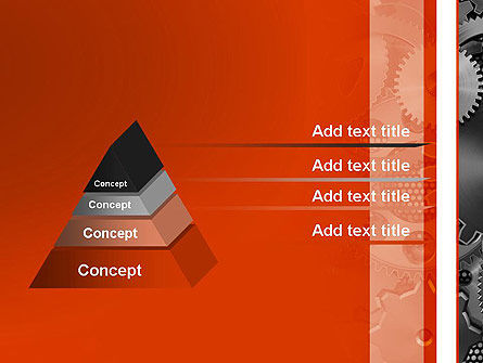 Cogwheels Concept PowerPoint Template Slide 12
