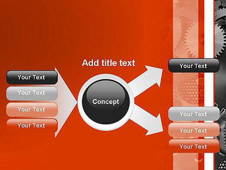 Cogwheels Concept PowerPoint Template Slide 14