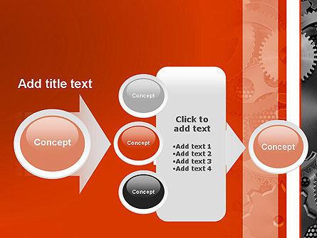 Cogwheels Concept PowerPoint Template Slide 17