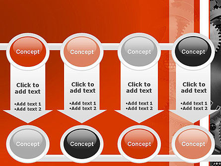 Cogwheels Concept PowerPoint Template Slide 18