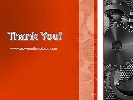 Cogwheels Concept PowerPoint Template Slide 20