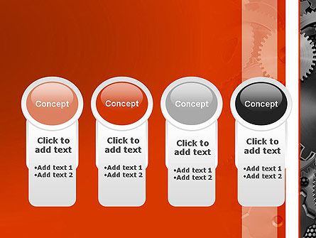 Cogwheels Concept PowerPoint Template Slide 5