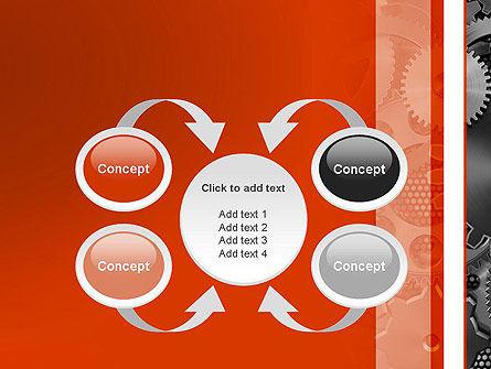 Cogwheels Concept PowerPoint Template Slide 6