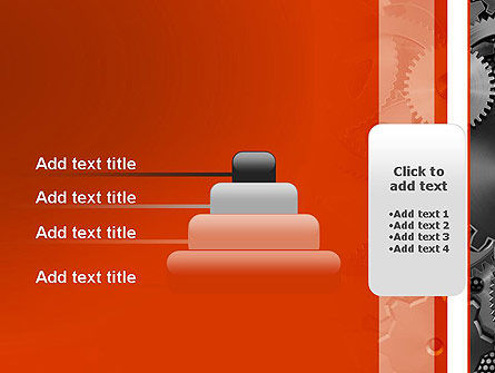 Cogwheels Concept PowerPoint Template Slide 8