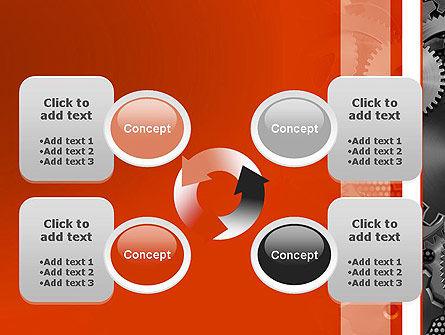 Cogwheels Concept PowerPoint Template Slide 9