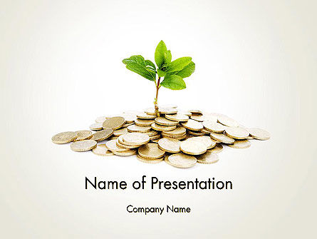Crowdfunding PowerPoint Template, 12424, Financial/Accounting — PoweredTemplate.com
