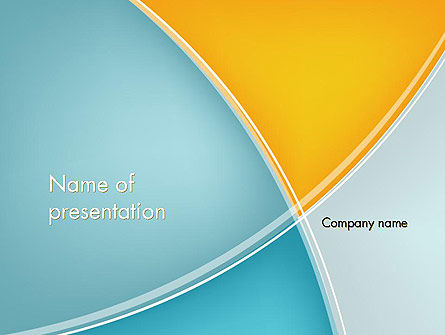 Abstract/Textures: Abstract Four Layers PowerPoint Template #12426