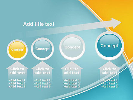 Abstract Four Layers PowerPoint Template Slide 13