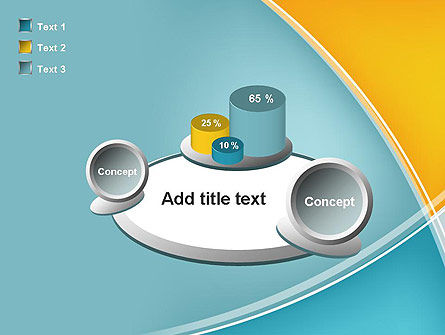 Abstract Four Layers PowerPoint Template Slide 16