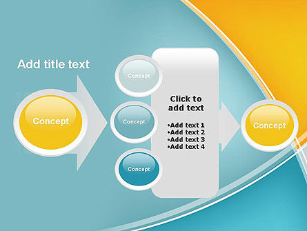 Abstract Four Layers PowerPoint Template Slide 17