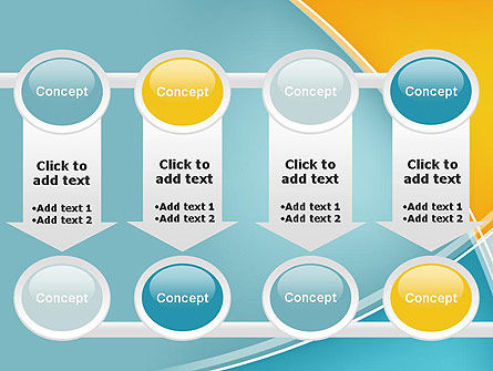 Abstract Four Layers PowerPoint Template Slide 18